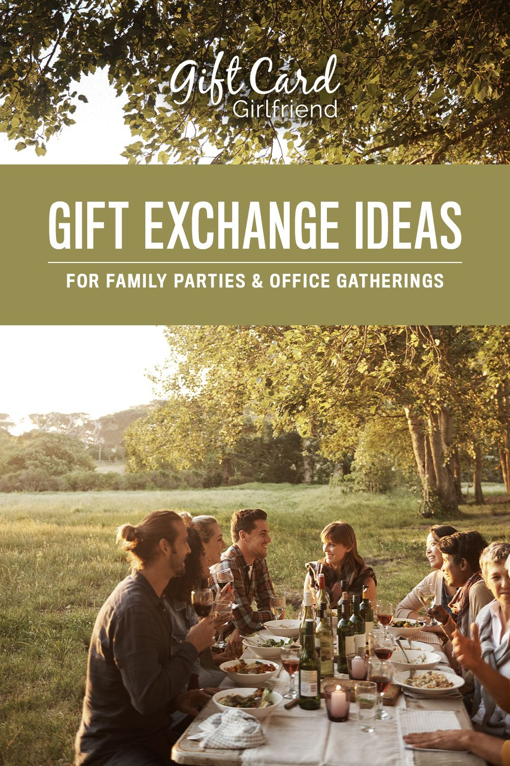 Gift Card Exchange Ideas for Family Parties and Office Parties   Gift card exchange, Gift ...