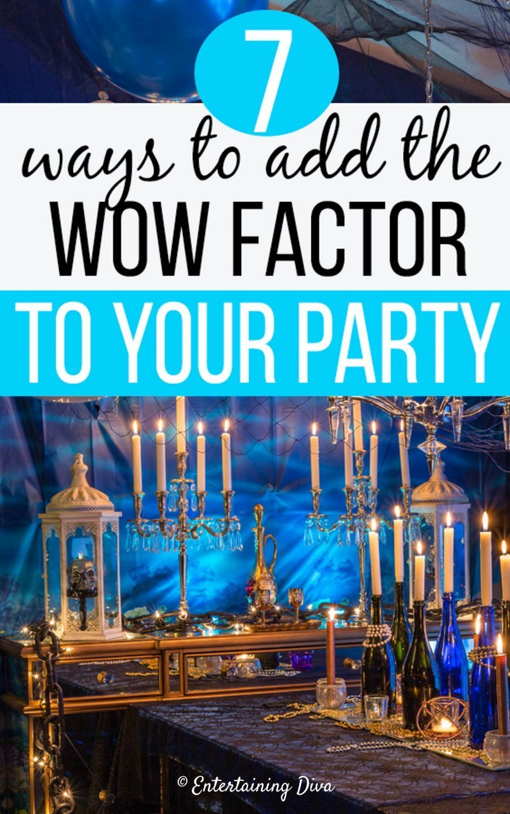 7 Ways To Add The Wow Factor To Your Party Decor in 2020