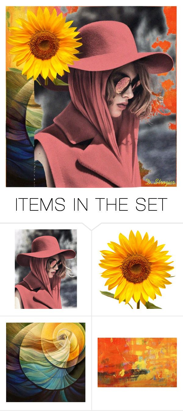 """""""Modern Beauty"""" by deborah-strozier ❤ liked on Polyvore featuring art and modern"""