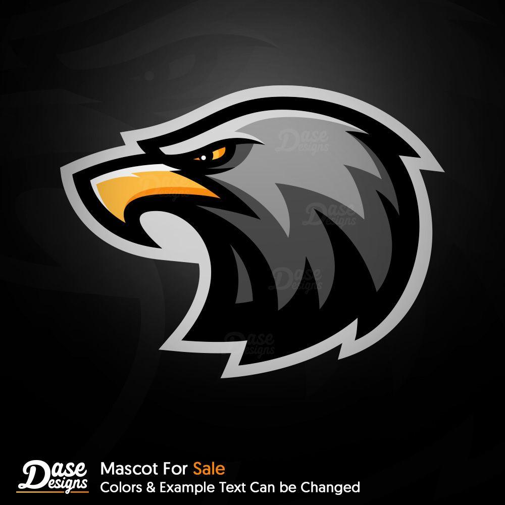 eagle face logo design