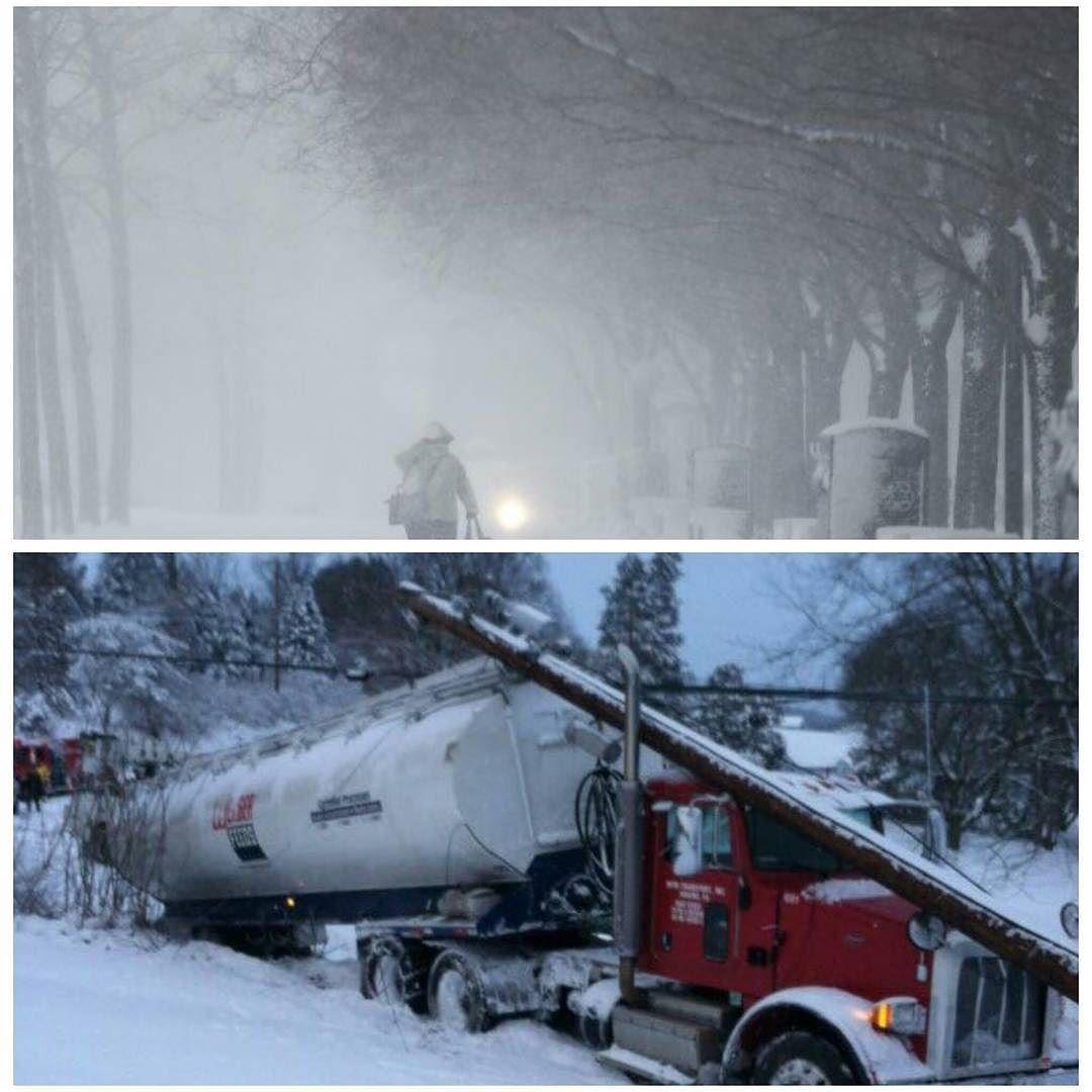 شبكة أجواء أكبر عاصفة ثلجية تضرب شمال شرق الولايات المتحدة هذا الشتاء تسفر عن مقتل شخص وانقطاع التيار الكهربائي على نطاق واس Instagram Posts Instagram Photo