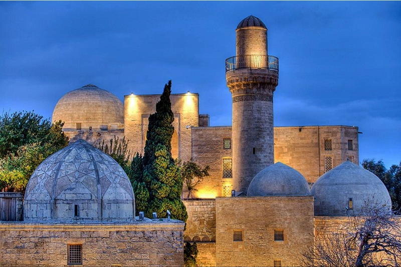 A Glimpse Of Azerbaijan S Heritage Baku City Azerbaijan Burial Vaults