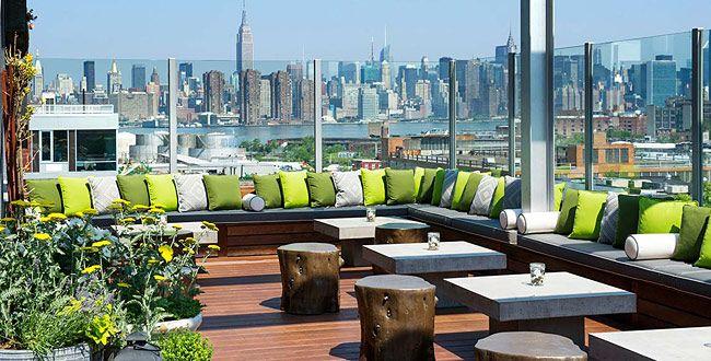Rooftop restaurants brooklyn for Alma terrace york