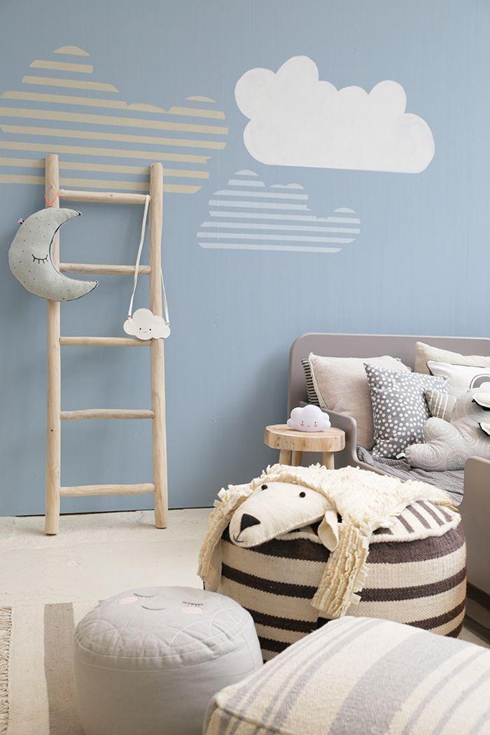 Blue in kids rooms