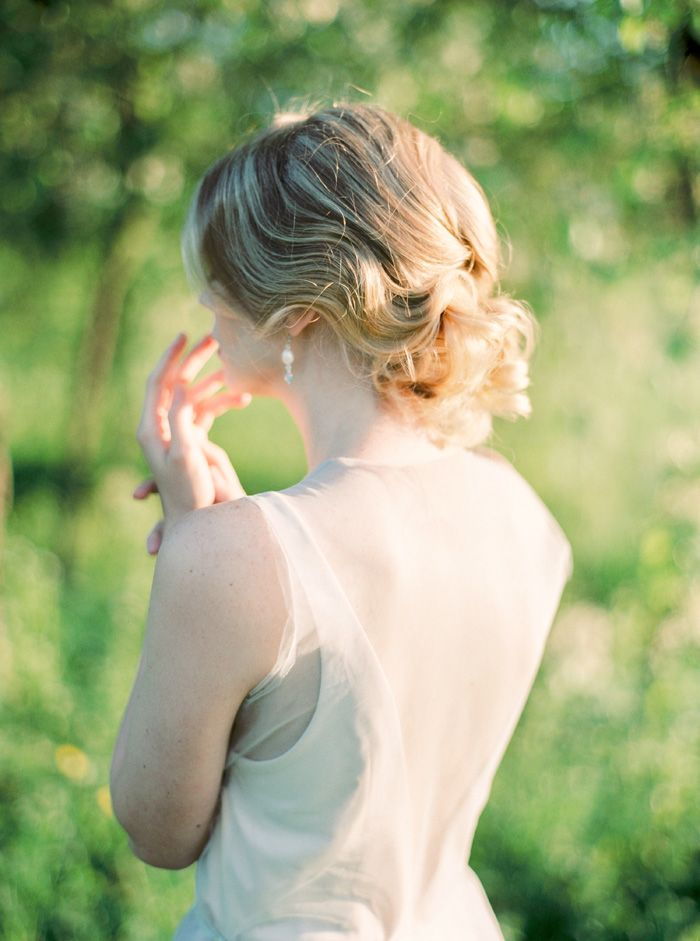 Beautiful Styled Shoot Complete With A short-cut lace top and classic style dress | fabmood.com