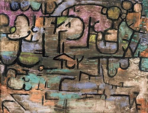 After the floods - Paul Klee