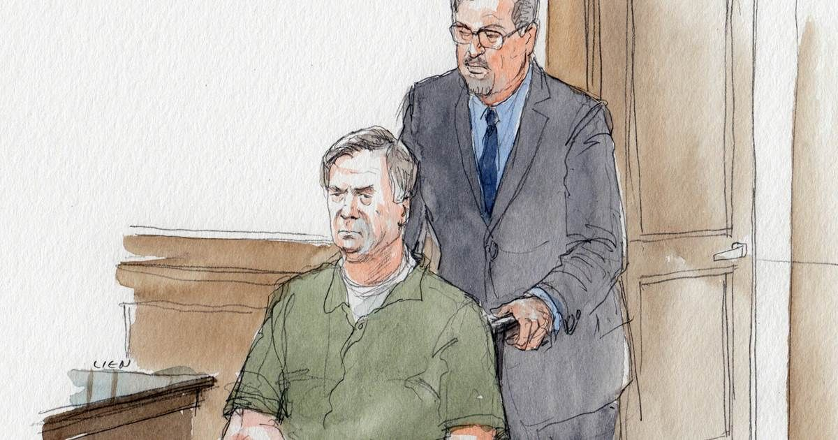 Paul Manafort shows up to court in wheelchair, learns