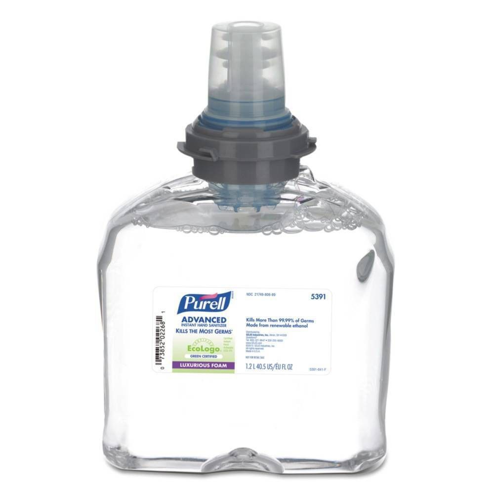 Purell Tfx Green Certified Instant Hand Sanitizer Foam Refill