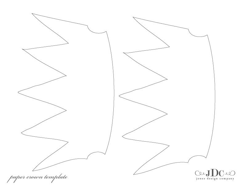 printable templates for paper crowns and tiaras could also be