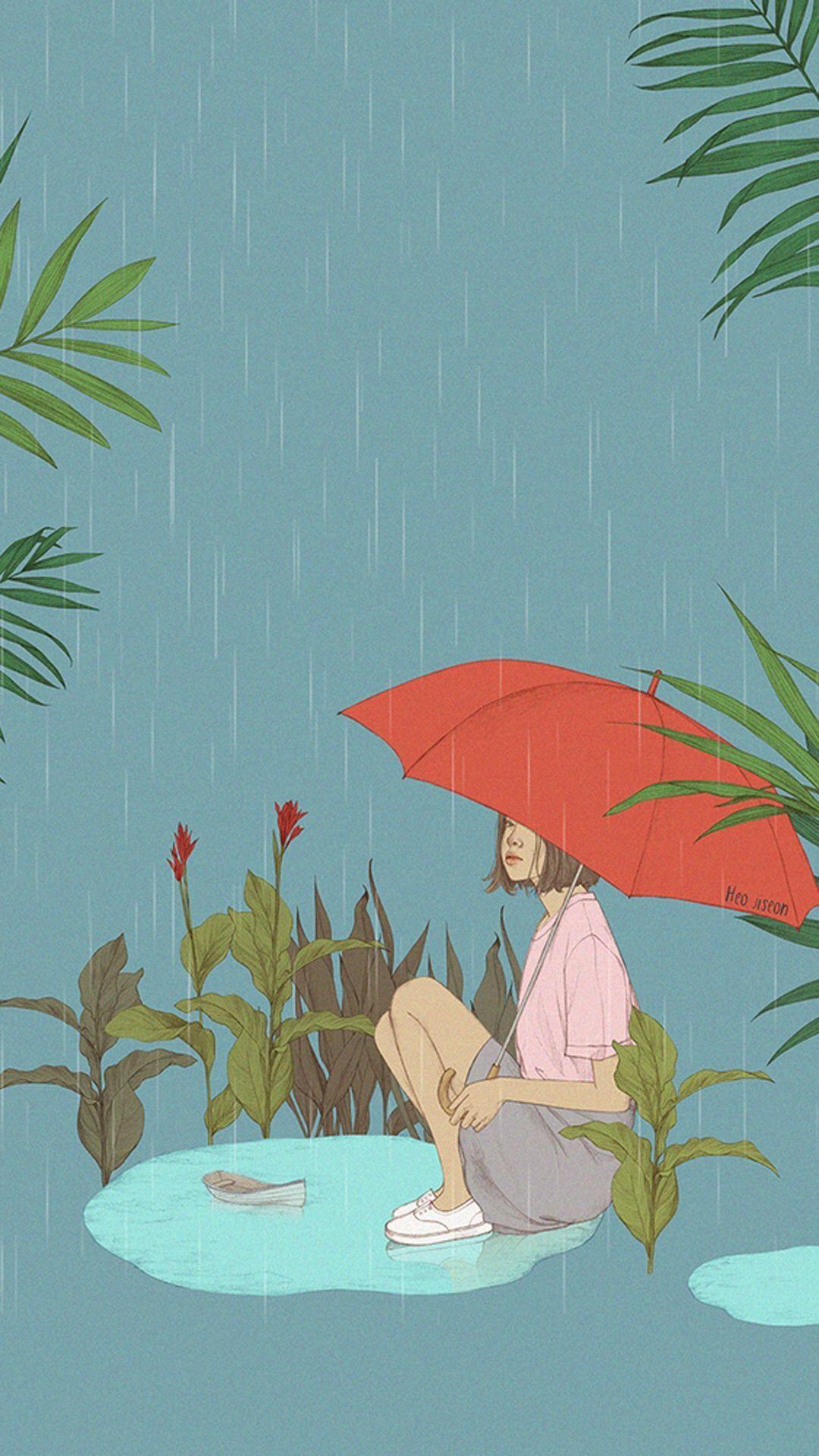 Umbrella Canopy Shelter Parasol Background
