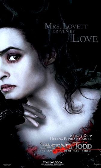 Sweeney Todd The Demon Barber Of Fleet Street Sweeney Todd Mrs Lovett Helena Bonham