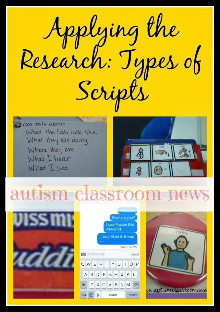 Click to grab the freebie and the ideas for using scripts in your classroom.  We use visual supports for students with autism so many times...here are some ways to use scripts for supporting basic communication and more sophisticated social interaction.  Plus there is a free set of scripts to try on the playground that will be great for students interacting with typical students.