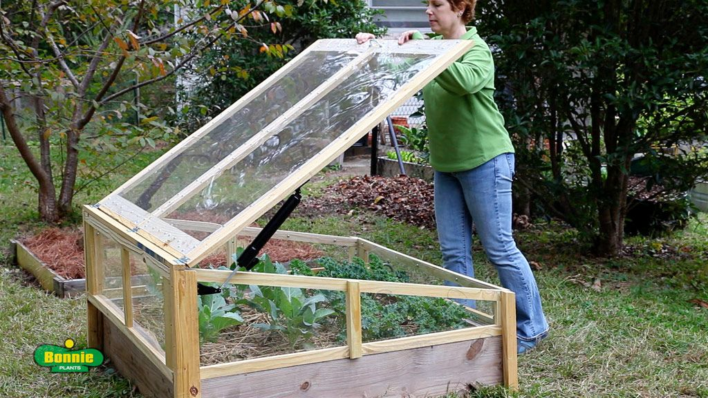 how to build a raised bed cold frame