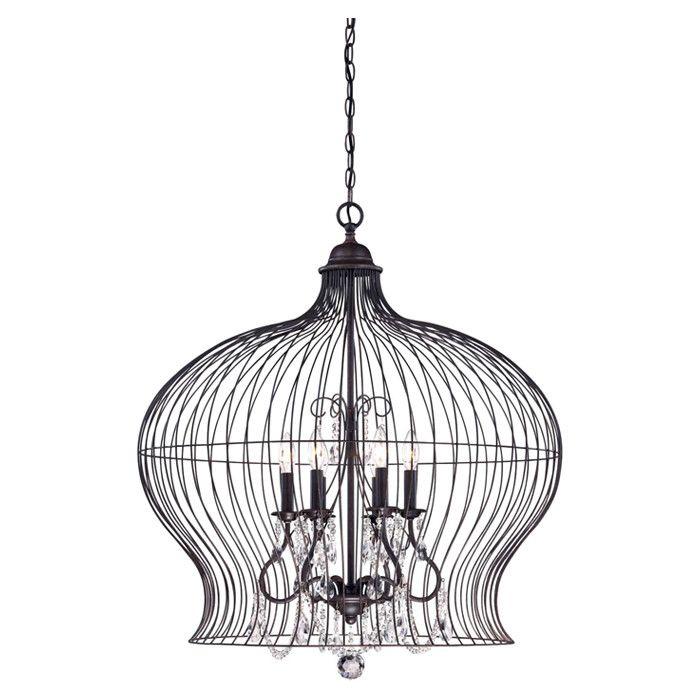 Birdcage Pendant <3