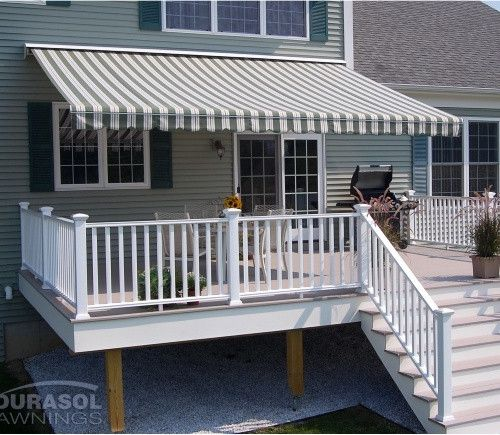 The Perfect Shade Flexi 16 X 12 Ft Manual Retractable Awning Www Hayneedle Com Retractable Awning Patio Shade Outdoor Awnings