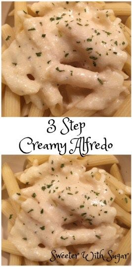 3 Step Creamy Alfredo images