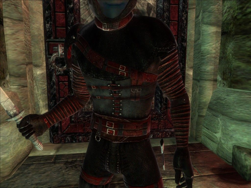 Dark Brotherhood Armor Red at Oblivion Nexus - mods and