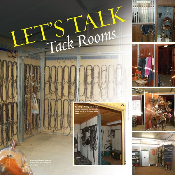 Tack Room Ideas Keep Functionality In Mind When Designing And