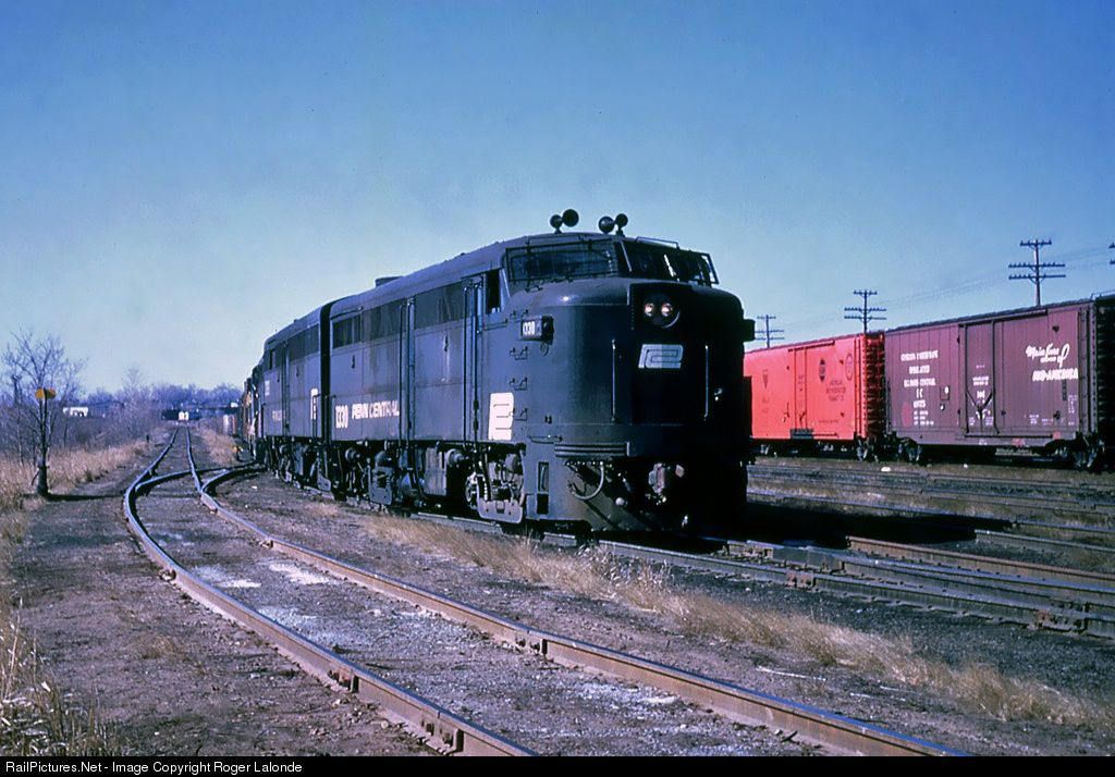 Railpicturesnet Photo Pc 1330 Penn Central Alco Fa 1 At Hartford