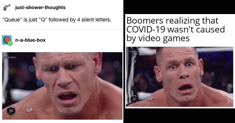 Confused John Cena Makes For An Excellent New Dank Meme John Cena Memes Know Your Meme