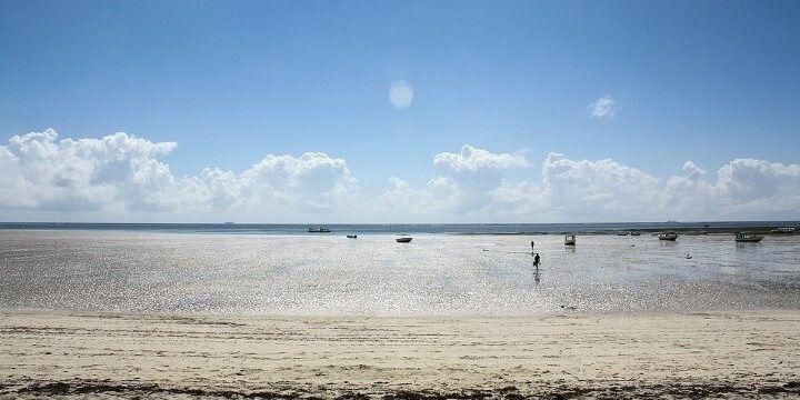 Beach, Mombasa, Kenya, Africa