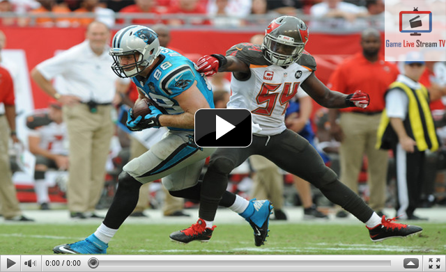 Buccaneers vs Panthers Live NFL Streaming Today NFL 2016