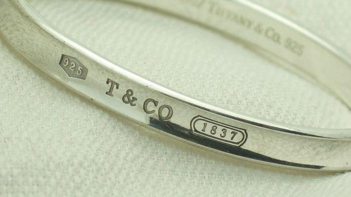 a1b8a1cde ... authentic tiffany 1837 bangle bracelet how to spot fake tiffany jewelry  from hunter ridge jewelry ...