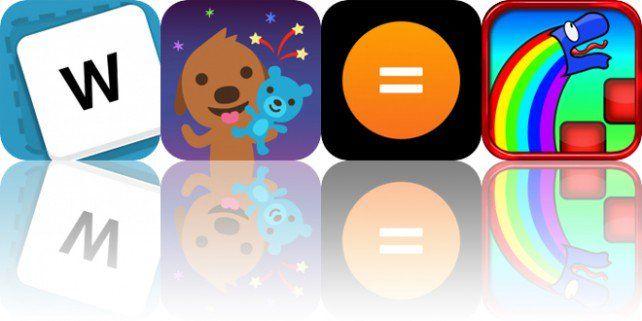 Today's Apps Gone Free Wordid, Sago Mini Friends, Kalkyl