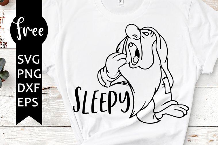 Photo of Sleepy SVG kostenlos, Zwerg SVG, Disney SVG, sofortiger Download, Silhouette Cameo, Shir …