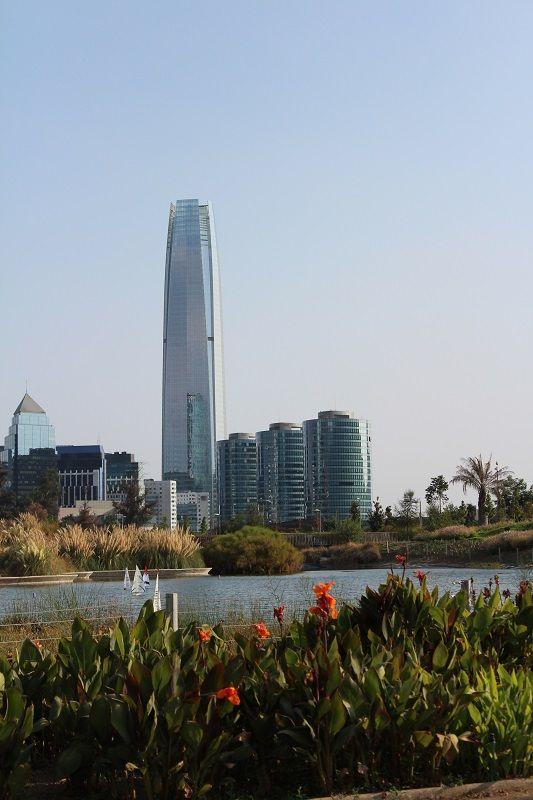 PRIMER DESTINO: SANTIAGO DE CHILE.