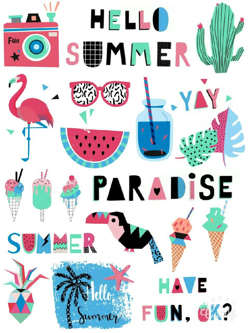 my paradise free stickers printable… | dibujo | pinterest | stickers