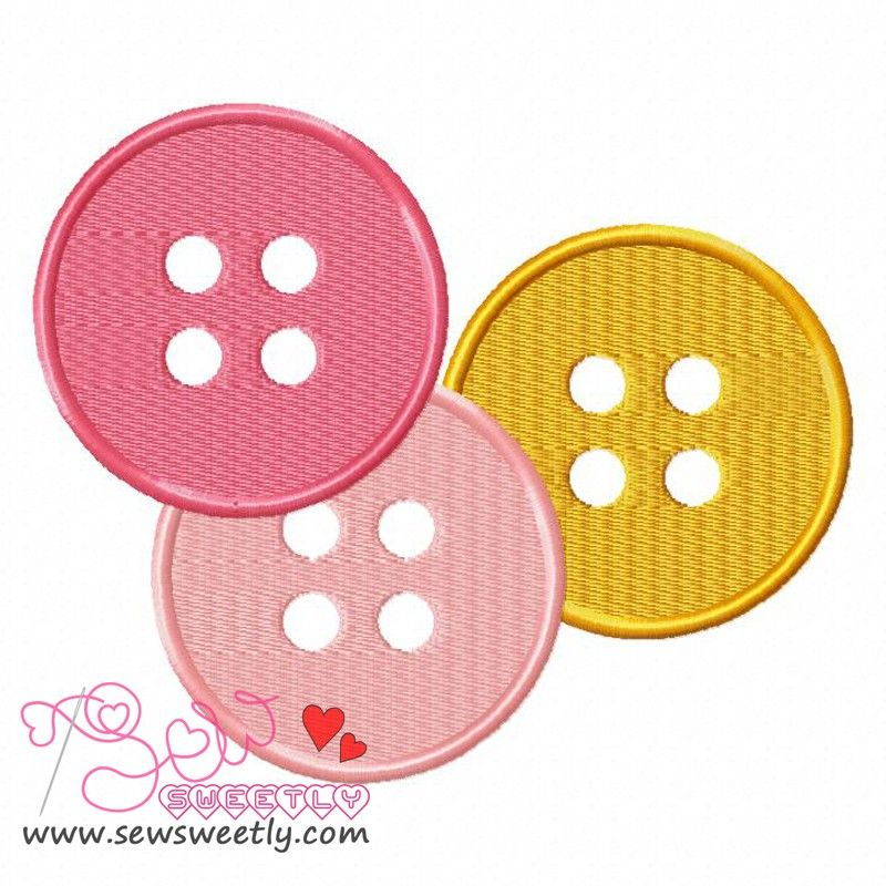 Buttons 2 Embroidery Design Embroidery Designs Embroidery And