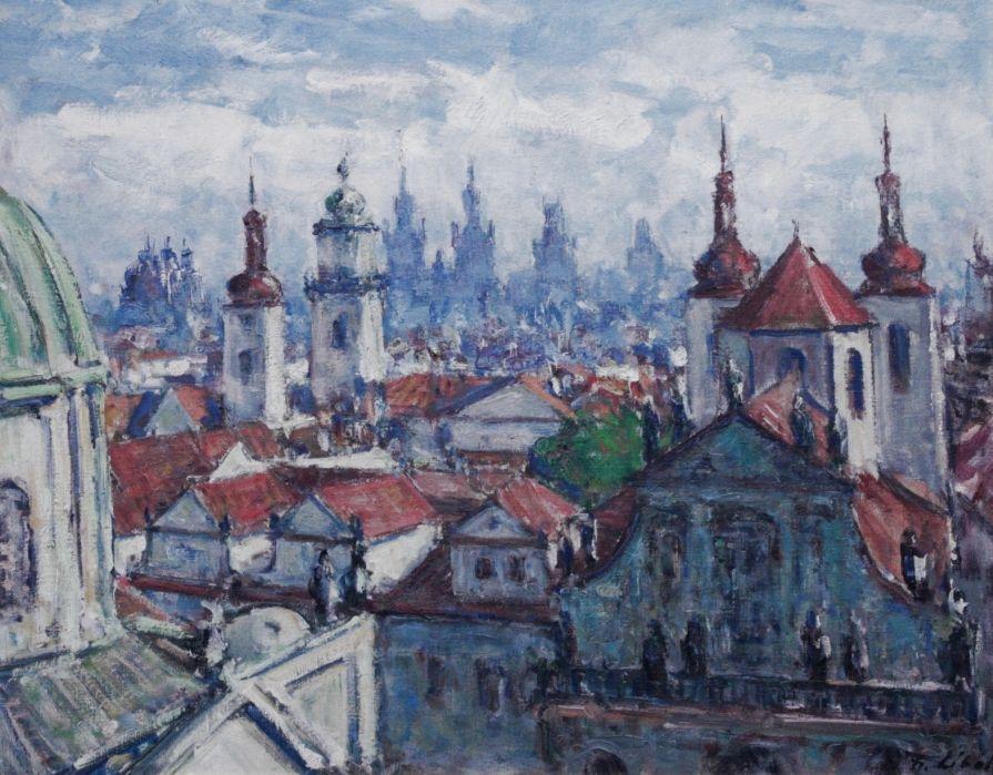 LÍBAL František (1896-1974): Staroměstské věže.