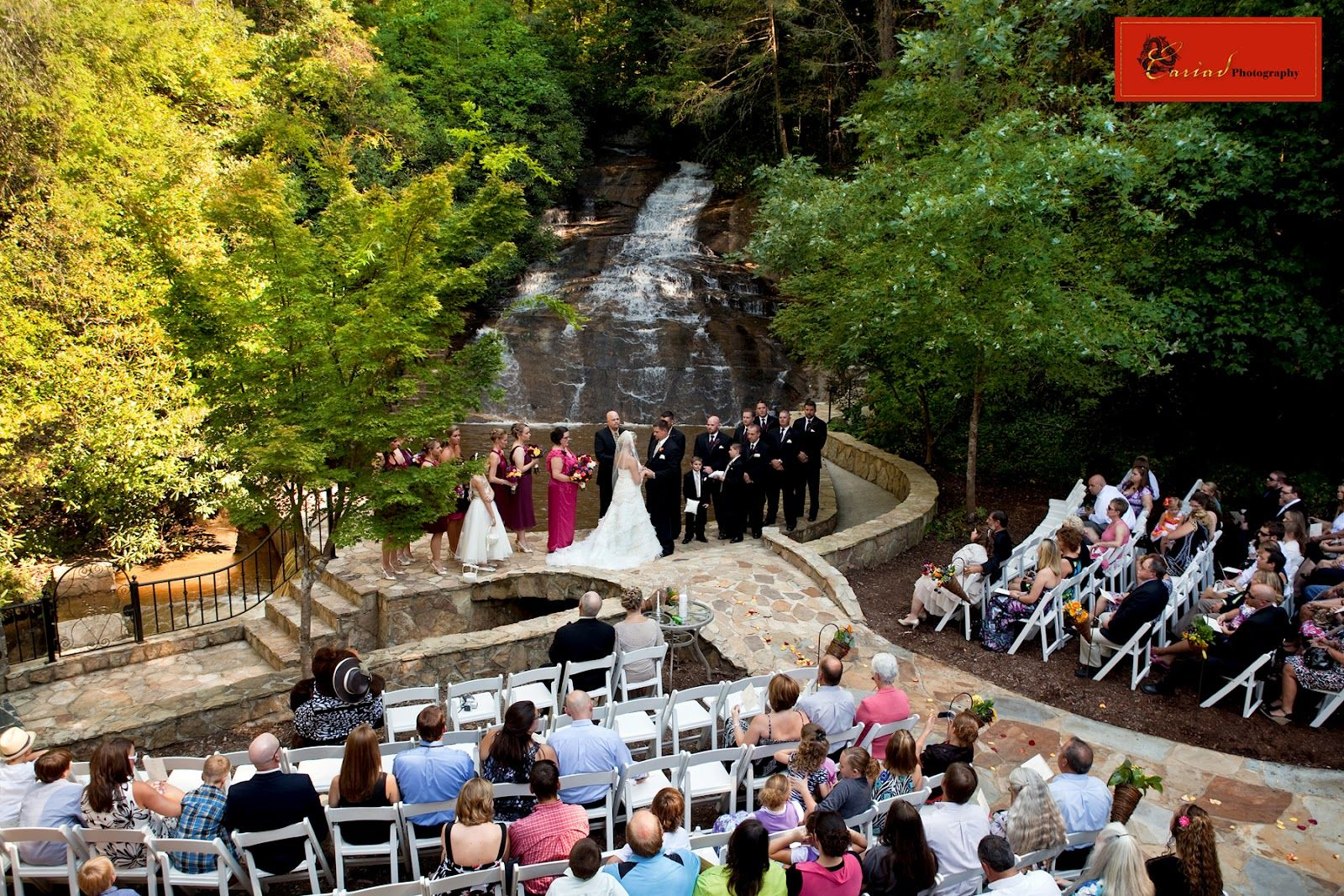 Wedding Packages In Georgia Mountains |  Falls is such a