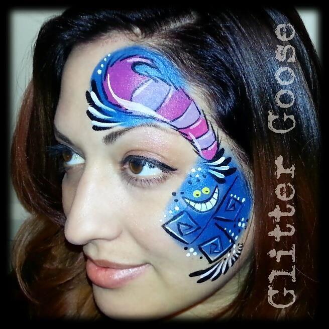 20 Alice In Wonderland Face Paint Inspiration Ideas Alice In Wonderland Face Painting Alice In Wonderland Makeup
