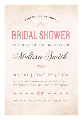 Here Comes The Bride printable invitation template Customize add