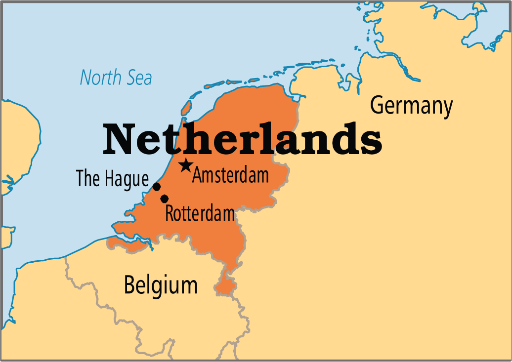 Netherlands Amsterdam 33 Europe States And Capitals 52
