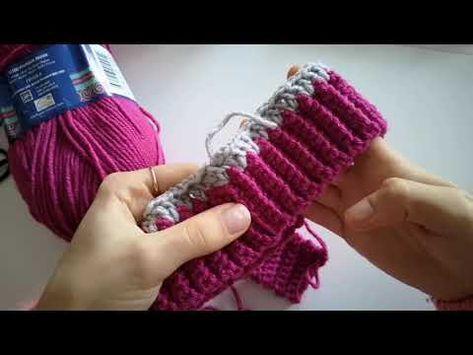 Havalı, Kolay ve Hızlı Bere Yapımı | Easy Crochet Hat Tutorial - YouTube #beanies