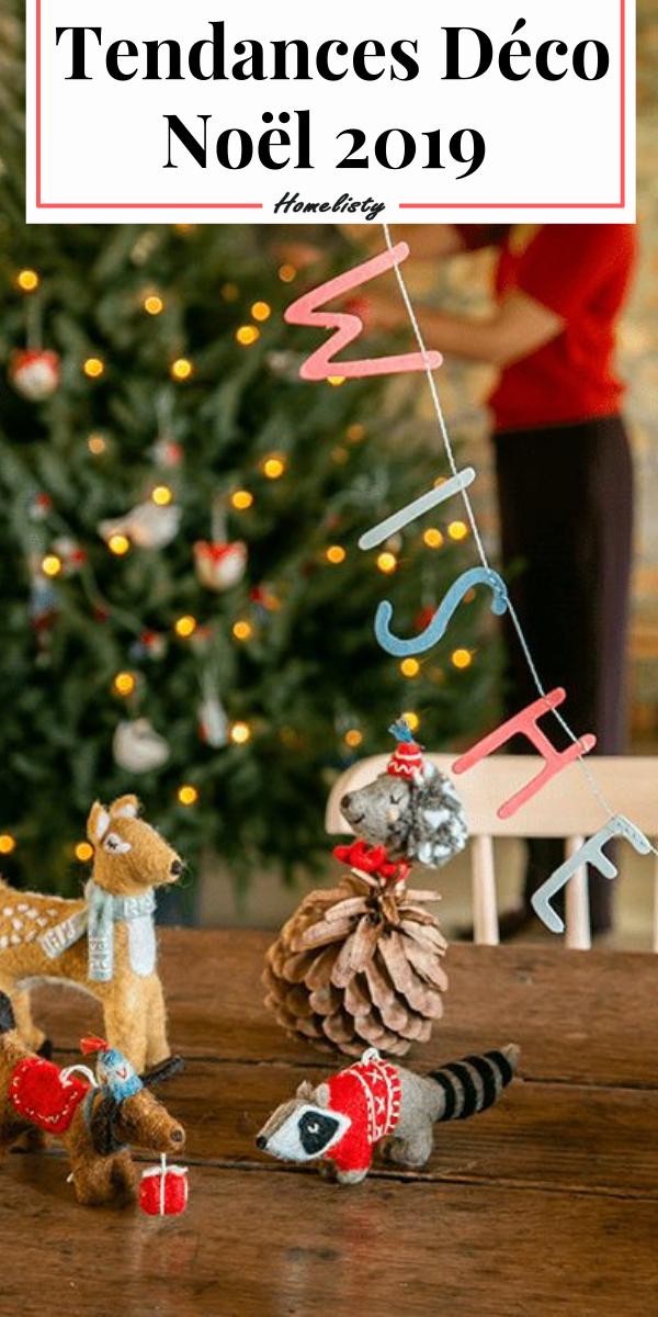 Noël 2019 : Les Tendances Déco