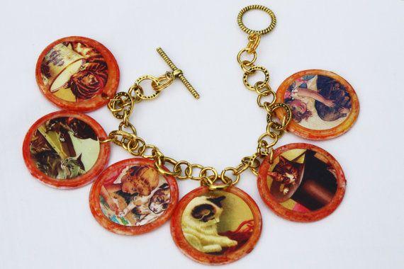 Pet Tiddlywink Charm Bracelet
