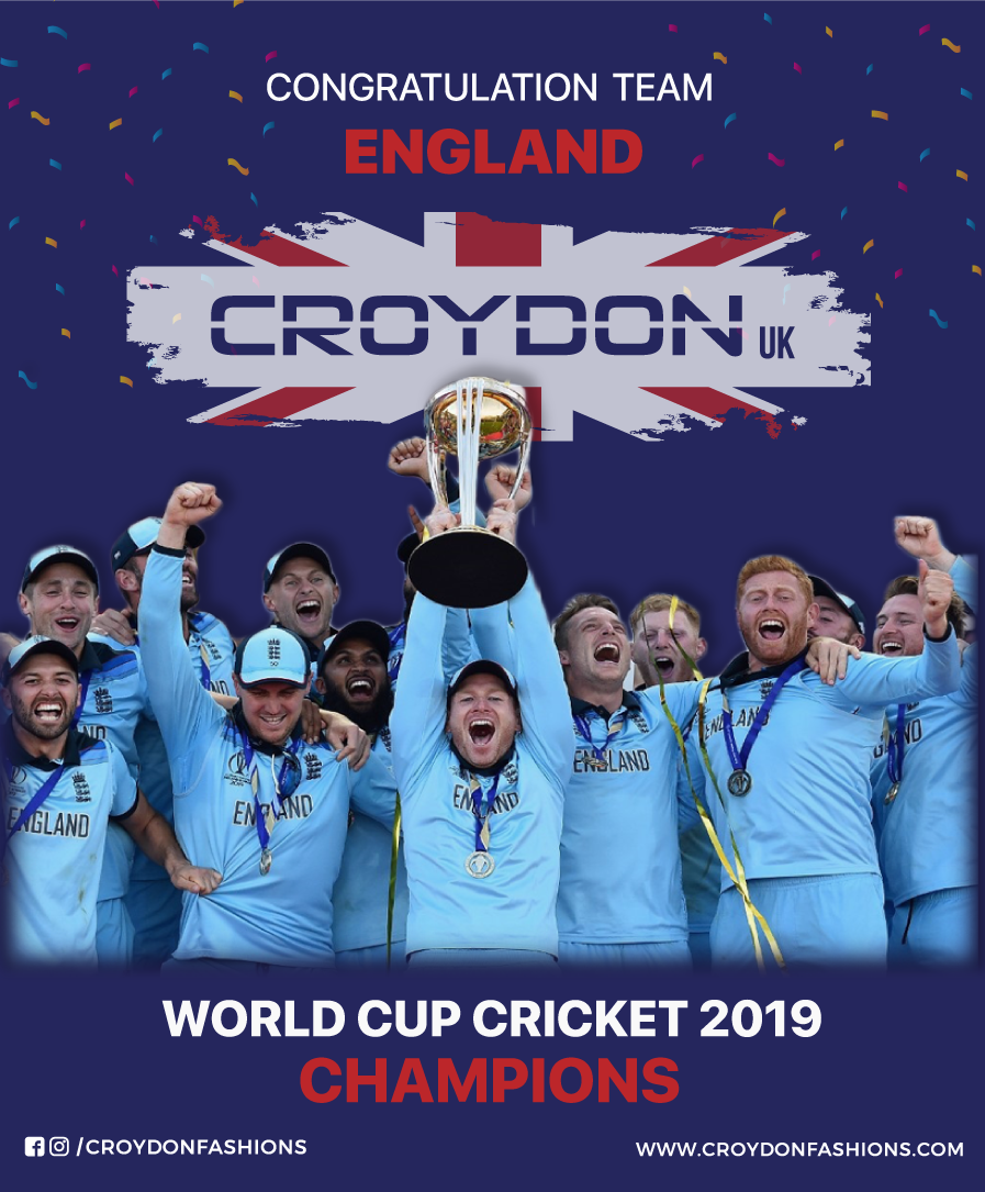 Congratulations Team England World Cup Cricket 2019 Champions Worldcupcricket2019 Worldcup Iccworldcup2019 En World Cup England Tshirt Cricket World Cup
