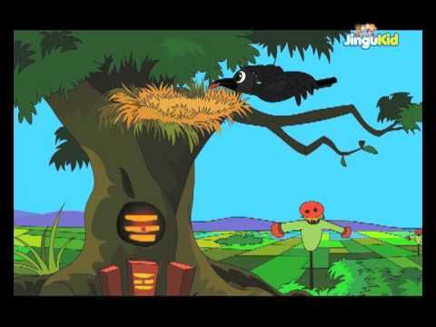 Moral stories for Kids - The Crow And Old Woman - Children