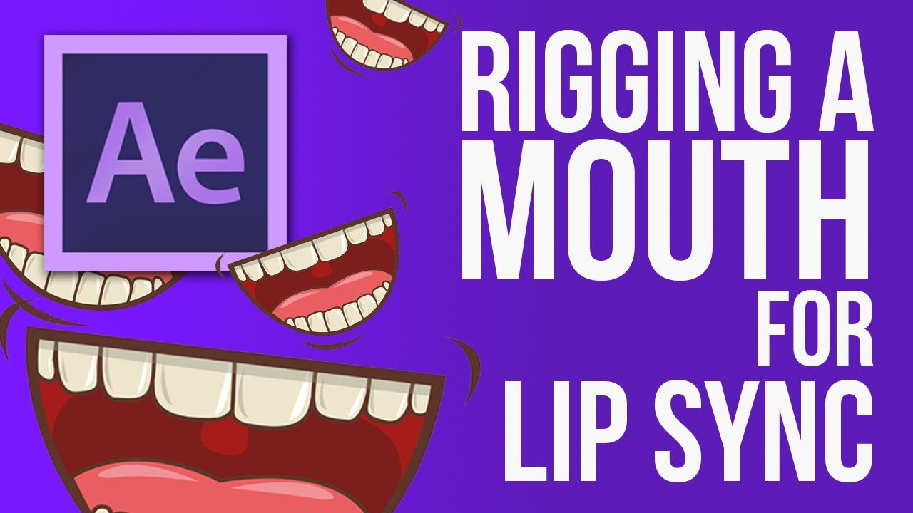 After Effects: How To Build A Mouth Rig For Lip Syncing (2d Animation)