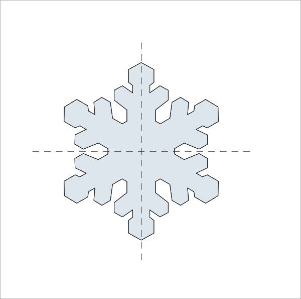 Snowflake Template Martha Stewart  Imogene