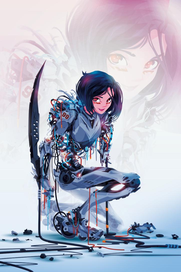 44 Random Pics To Make You Happy Angel Manga Alita Battle Angel Manga Battle Angel Alita