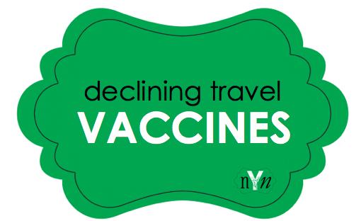 Alternative treatment regimen to prevent yellow fever, malaria, and typhoid.