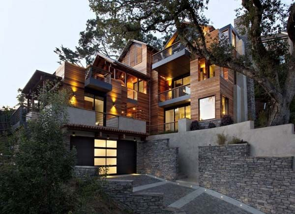 Sustainable CA residence by SB Architects