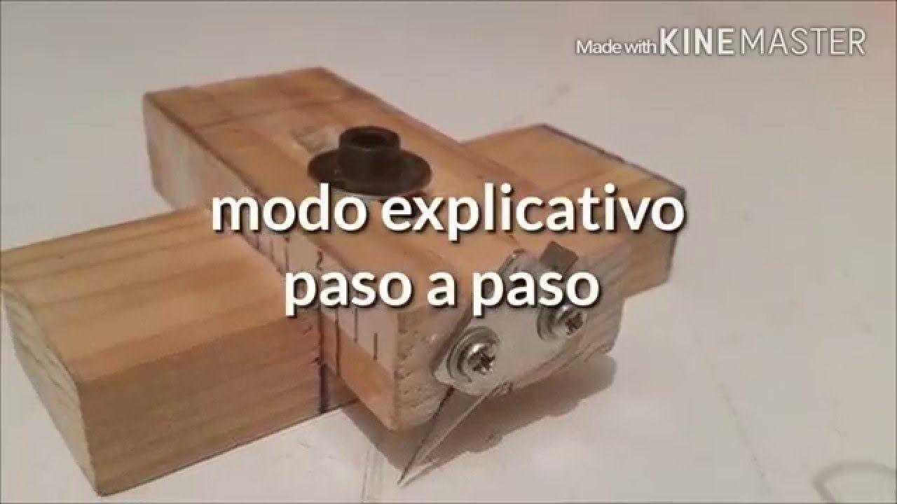 Como hacer cortador de maderas casero ( how to make homemade wood ...
