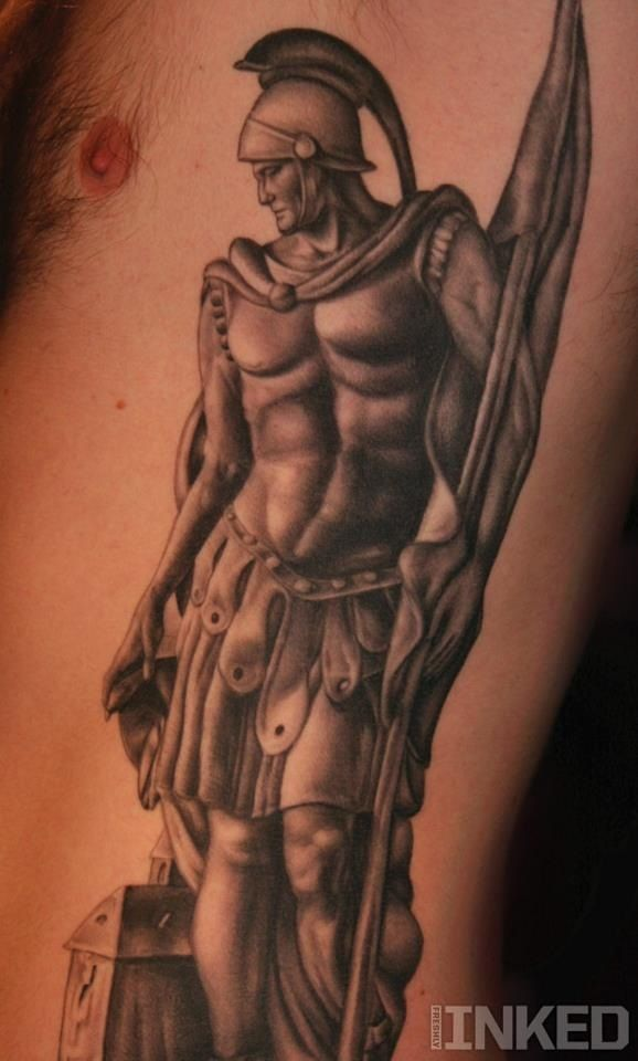 Gladiator art body art pinterest gladiator tattoo for Italian warrior tattoos