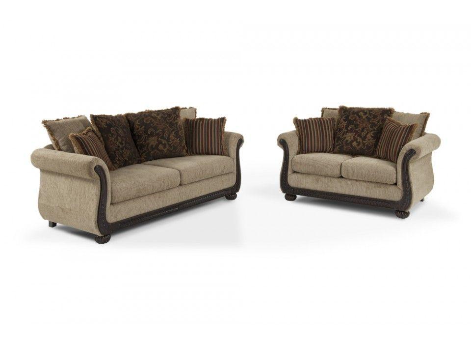 Gabriella Sofa  Loveseat  Bobs Discount Furniture  living room  Loveseat sofa Bobs